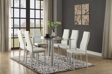 Load image into Gallery viewer, Ultra modern Styling Dinette Set 2 Colors Black or White