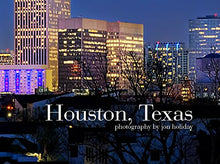 Load image into Gallery viewer, Houston Skyline PHOTO PRINT UNFRAMED NIGHT Color City Downtown 11.75 inches x 36 inches Texas Photographic Panorama Poster Picture
