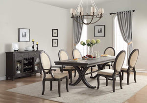Modern Traditional Styling 6 Piece Dining Room Set