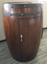 Load image into Gallery viewer, Wine Barrel Refrigerator, Dark Oak