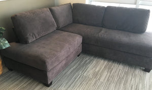 Modern Chocolate Sectional