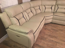 Load image into Gallery viewer, Ultra Modern 6 Piece Smart Sectional - 3 Power Recliners 2 USB Ports
