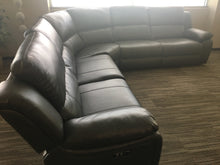 Load image into Gallery viewer, Modern Smart Power Sectional-  3 Recliners w/2 Built in USB Ports