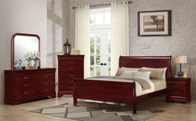 Load image into Gallery viewer, Cherry Apple Sleigh Bedroom Set