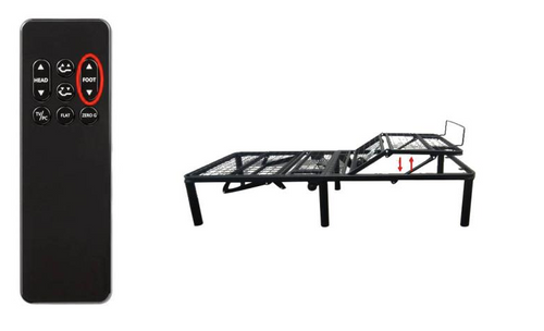 Wireless Adjustable Bed Frame