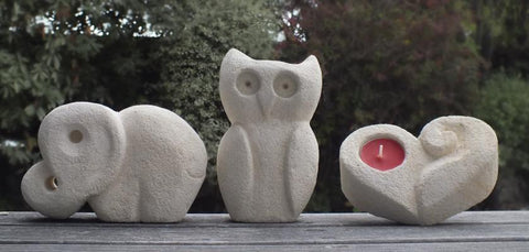 children stone carving