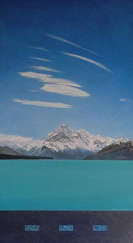 lake pukaki painting