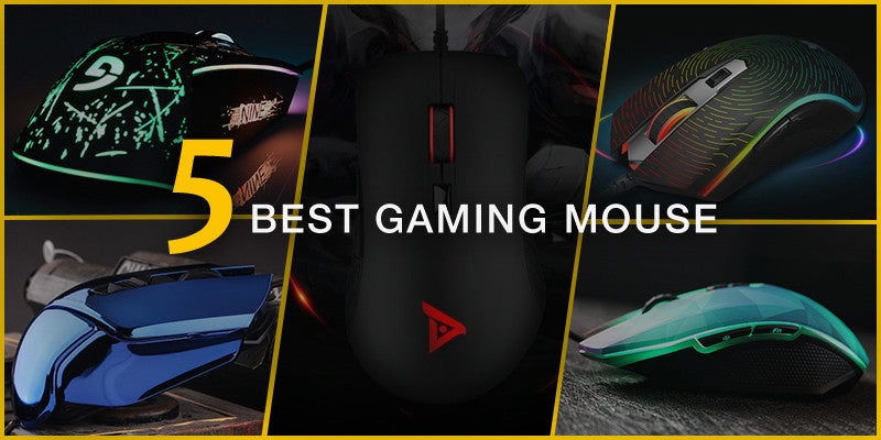 5 Best Gaming Mouse with Extraordinary Beauty and Functionalities