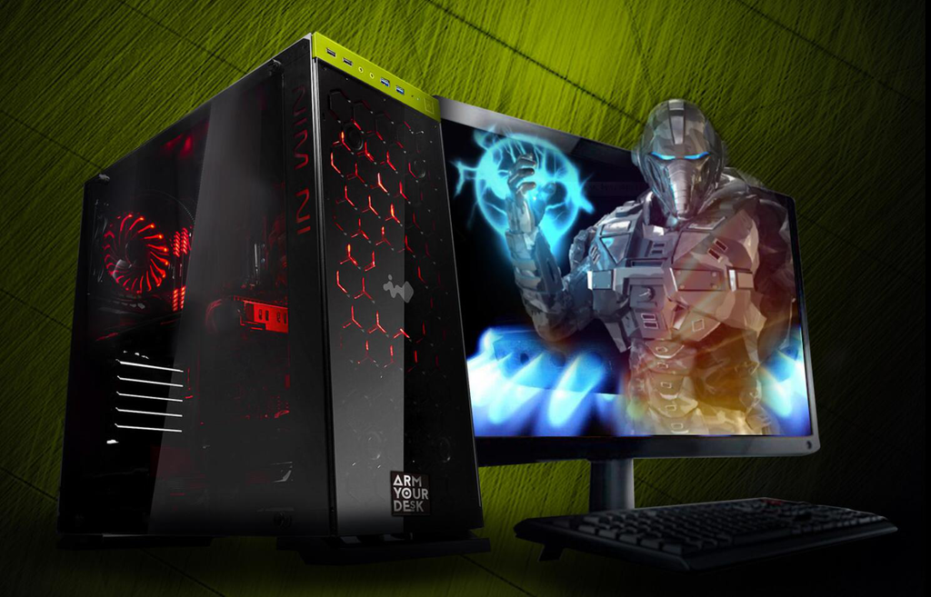 ArmYourDesk™ G80 VR Ready Desktop Gaming PC (Review)