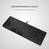 DREVO Joyeuse V2 96-Key Ultra-Thin Wired Mechanical Keyboard - Aluminium Alloy Housing With White LED