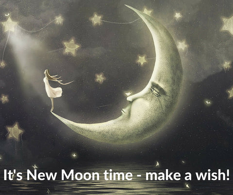 New Moon ritual blog by Celestial Bliss Holistic