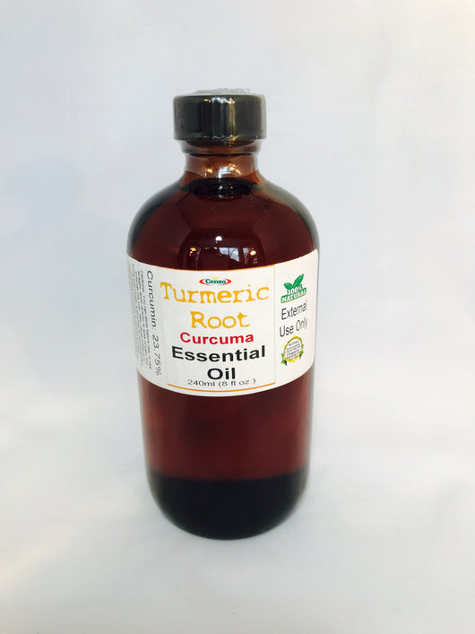 TURMERIC ROOT CURCUMA ESSENTIAL OIL 240ml (8 fl oz) - Turmeric Boss