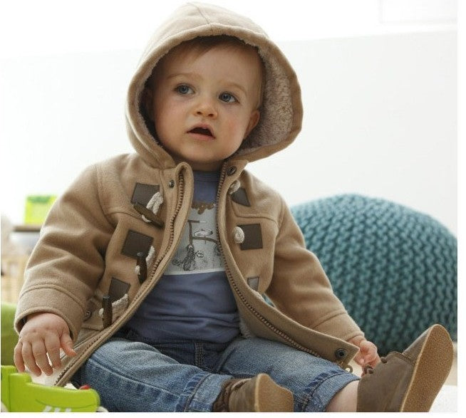 Autumn/Winter Longsleeve Jacket for Baby Boys with Zipper and Pockets 1-5T - FOR MY LITTLE ANGELS