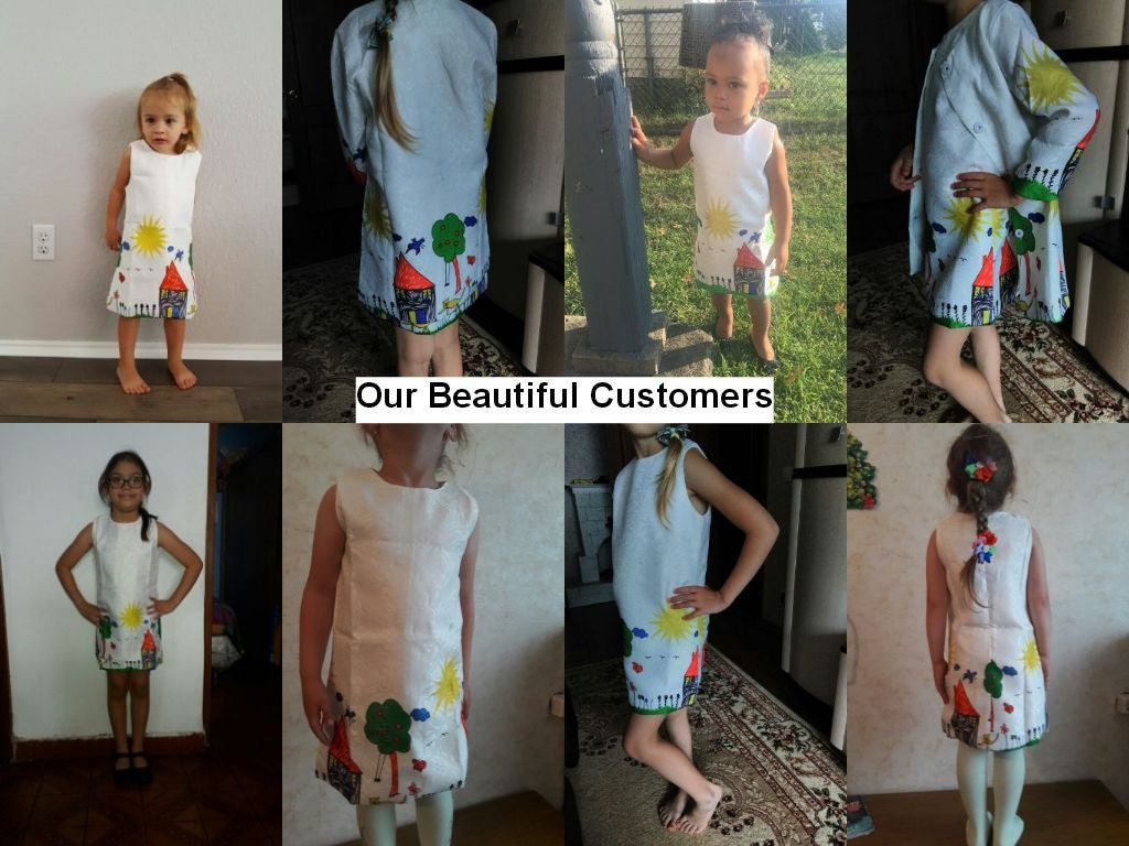 Graffiti Print Sleeveless Dress Set with Coat Dress in Same Pattern for Girls 3-8T (2pcs) - FOR MY LITTLE ANGELS