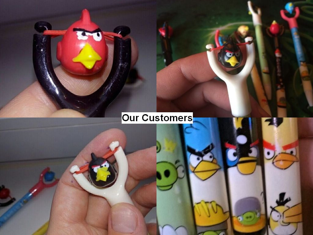 Angry Bird Ballpoint Pen for School Supplies (4pcs) - FOR MY LITTLE ANGELS