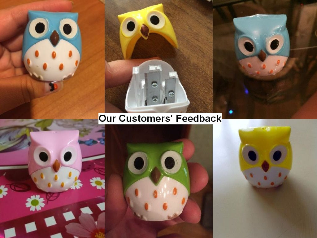 Owl Pencil Sharpener for School Supplies (1pcs) - More Colors Available - FOR MY LITTLE ANGELS