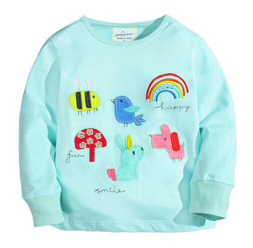 4dda882d5172 Cotton Long-sleeve T-shirt for Baby Girls for 18M-6T – FOR MY LITTLE ...
