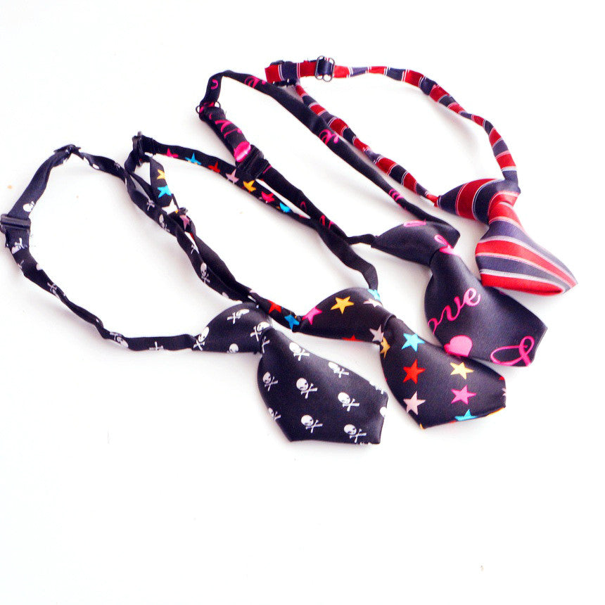 Pet's Bow Tie with Colorful Prints (10pcs) - FOR MY LITTLE ANGELS