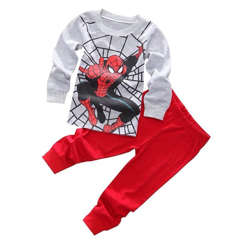 Spider Man and Iron Man Pajamas Sleepwear for Kids 2-7T - More Colors Available - FOR MY LITTLE ANGELS