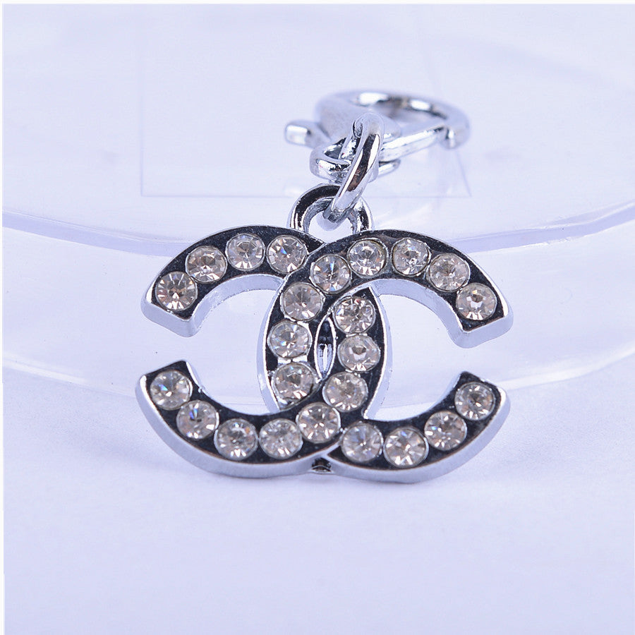 Rhinestone Charm Pendant for Pet's Collar Necklace - FOR MY LITTLE ANGELS