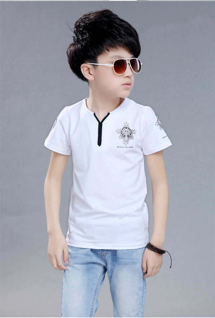 Long/Short Sleeve Casual T-shirt for Boys 1-8T - FOR MY LITTLE ANGELS