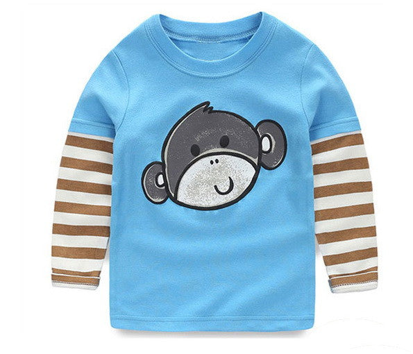 Long-sleeved Boys Cotton Sweater 1-6T - FOR MY LITTLE ANGELS