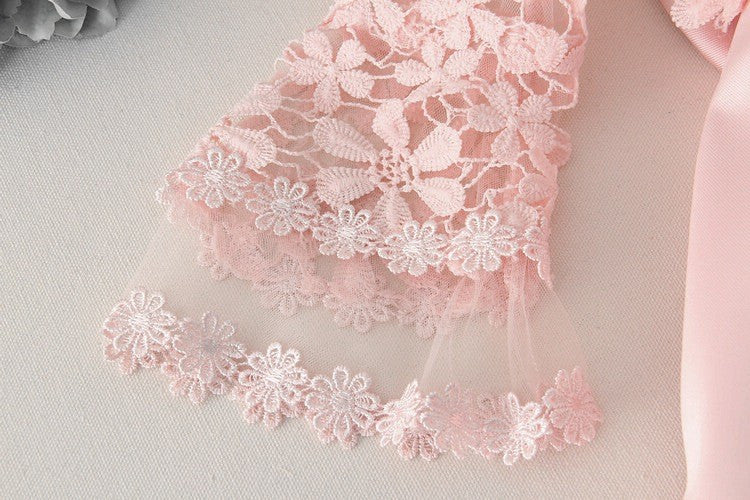 Elegant Lace and Tulle Princess Dress for Girl 3-12T - FOR MY LITTLE ANGELS