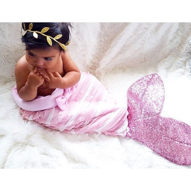 Winter Warm and Soft Mermaid Tail Sleeping Blanket for Kids - FOR MY LITTLE ANGELS