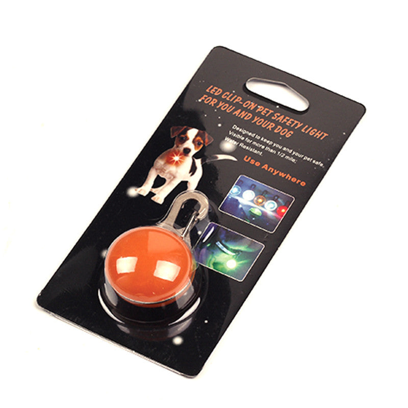 Glowing Flasing LED Light Pets Luminous Collar with Switch Button - FOR MY LITTLE ANGELS