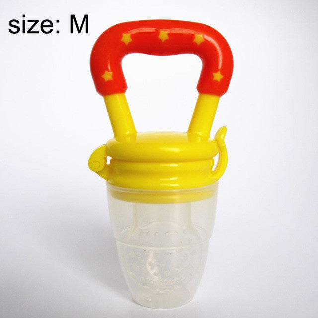 Feeding Tool Bell with Nipple Fresh Fruit Pacifier for Baby - FOR MY LITTLE ANGELS