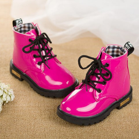 Baby Girls High Quality Lace-Up Boots - FOR MY LITTLE ANGELS