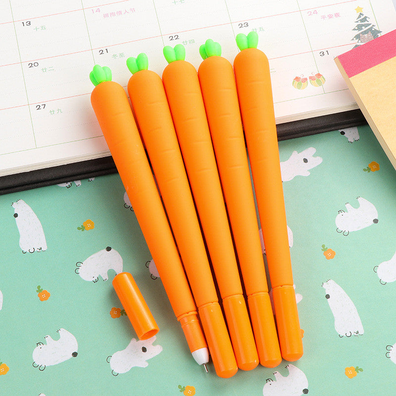 Cute Carrot Gel Pen for Stationery (1pc) - FOR MY LITTLE ANGELS