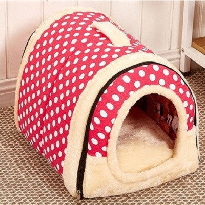 Travelling House Nest with Foldable Mat for Dogs/Cats - FOR MY LITTLE ANGELS