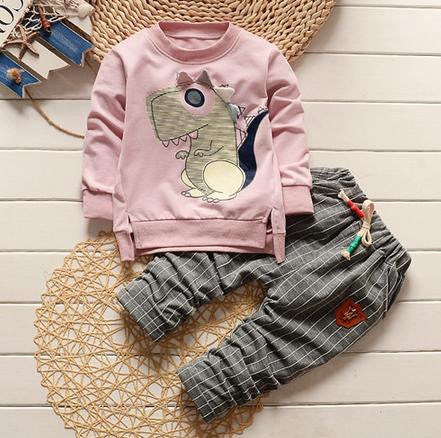 Autumn/Winter Baby Boys Clothing Set with Sweatshirt and Sweatpants (2pcs) 18M-5T - FOR MY LITTLE ANGELS