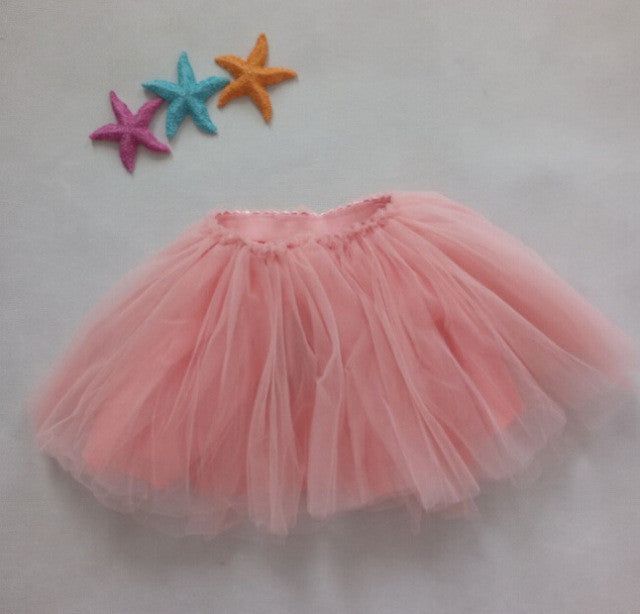 Spring/Summer Baby GIrls Mini Skirt with Fluffy Tulle Ball Gown 1-3T - FOR MY LITTLE ANGELS