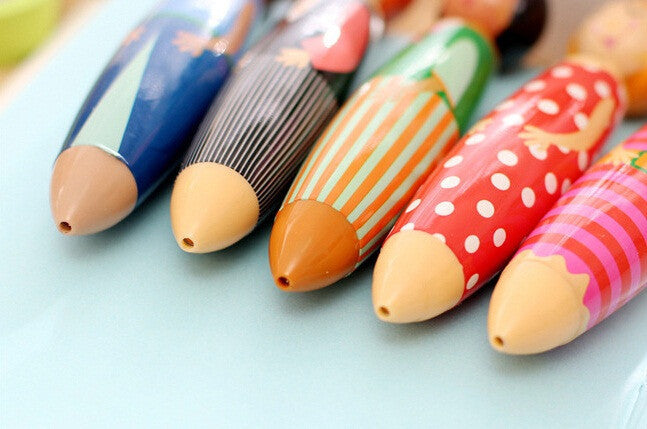 Family Doll Ball Point Pen for Stationery Supplies (1pc) - FOR MY LITTLE ANGELS