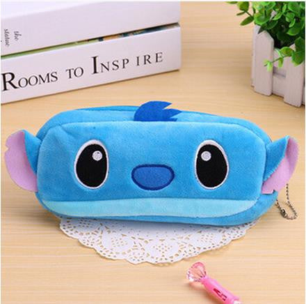 Cartoon/Emojis Plush Pencil Case for Stationery Supplies (1pc) - FOR MY LITTLE ANGELS