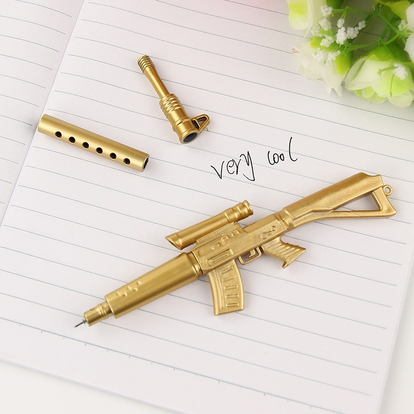 Funny Gun Shape Gel Pen School Supplies (3pcs) - FOR MY LITTLE ANGELS
