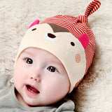 Autumn/Winter Soft Cotton Beanie for Infant Kids with Animal Print - FOR MY LITTLE ANGELS