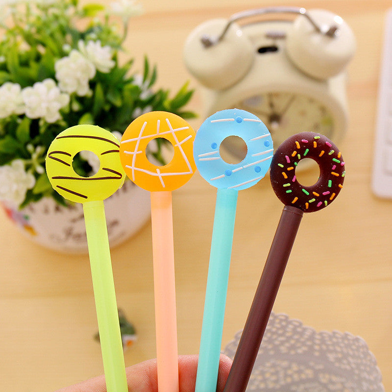 Cute Colorful Donut Gel Pen for Stationery (1pc) - FOR MY LITTLE ANGELS