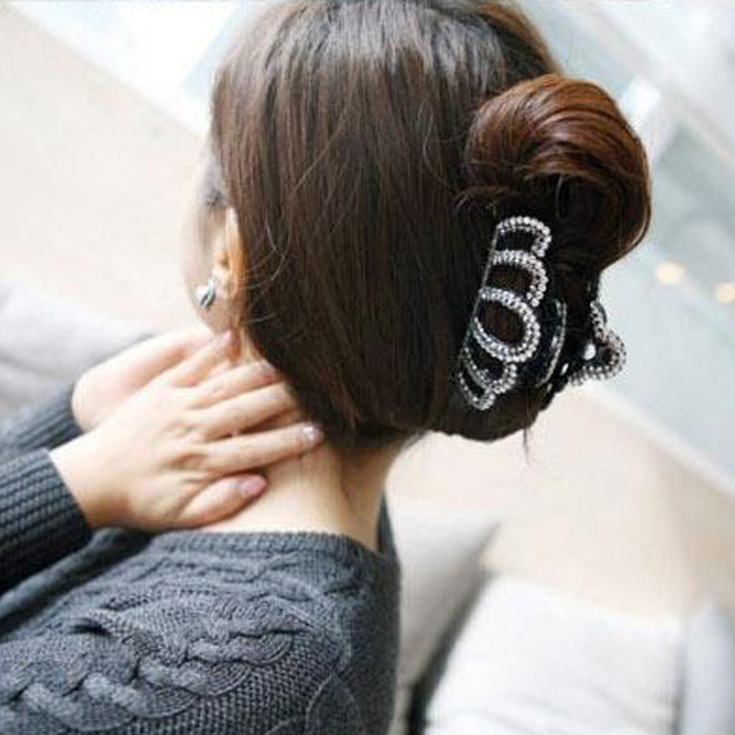 Large Crown Hair Claws with Crystals for Women - FOR MY LITTLE ANGELS
