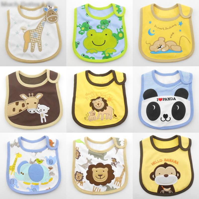 Cartoon Animal Waterproof Burp Cloths for Kids - FOR MY LITTLE ANGELS