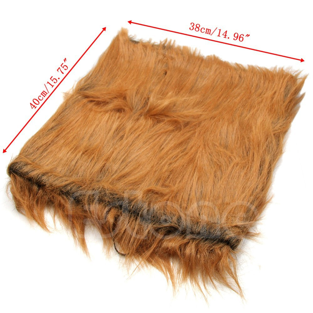 Lion Mane for Dogs, Cats Costume Set for Pets with Wig Hair - FOR MY LITTLE ANGELS