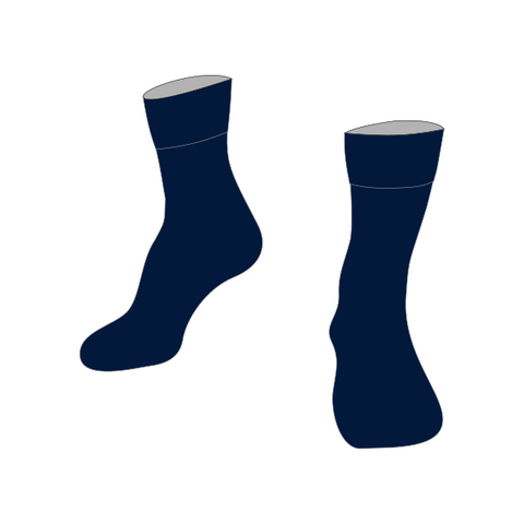 St Francis of Assisi | Ankle Socks - (navy)