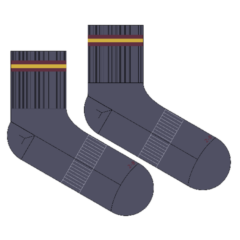 Cabra Dominican College | Grey Anklet Socks