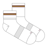 Cabra Dominican College | White Anklet Socks