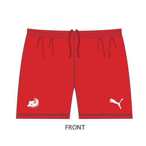 Campbelltown City SC | 2018 Home Shorts - Red (old stock)