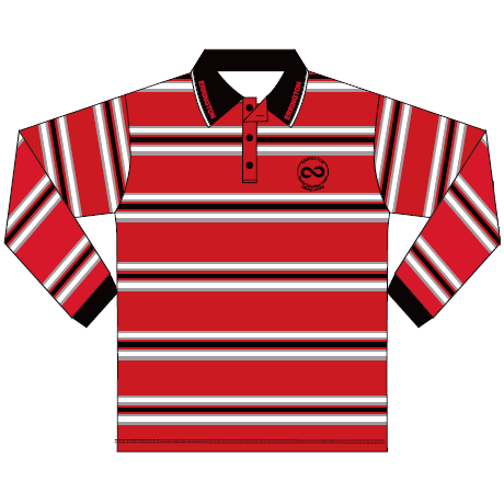Errington SEC | Polo - Knitted Stripe - Long Sleeve