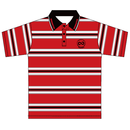 Errington SEC | Polo - Knitted Stripe - Short Sleeve