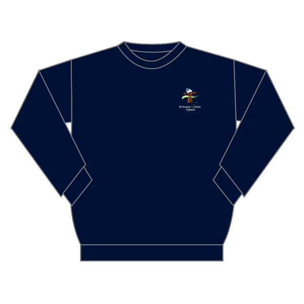 St Francis of Assisi | Crew-Neck Windcheater